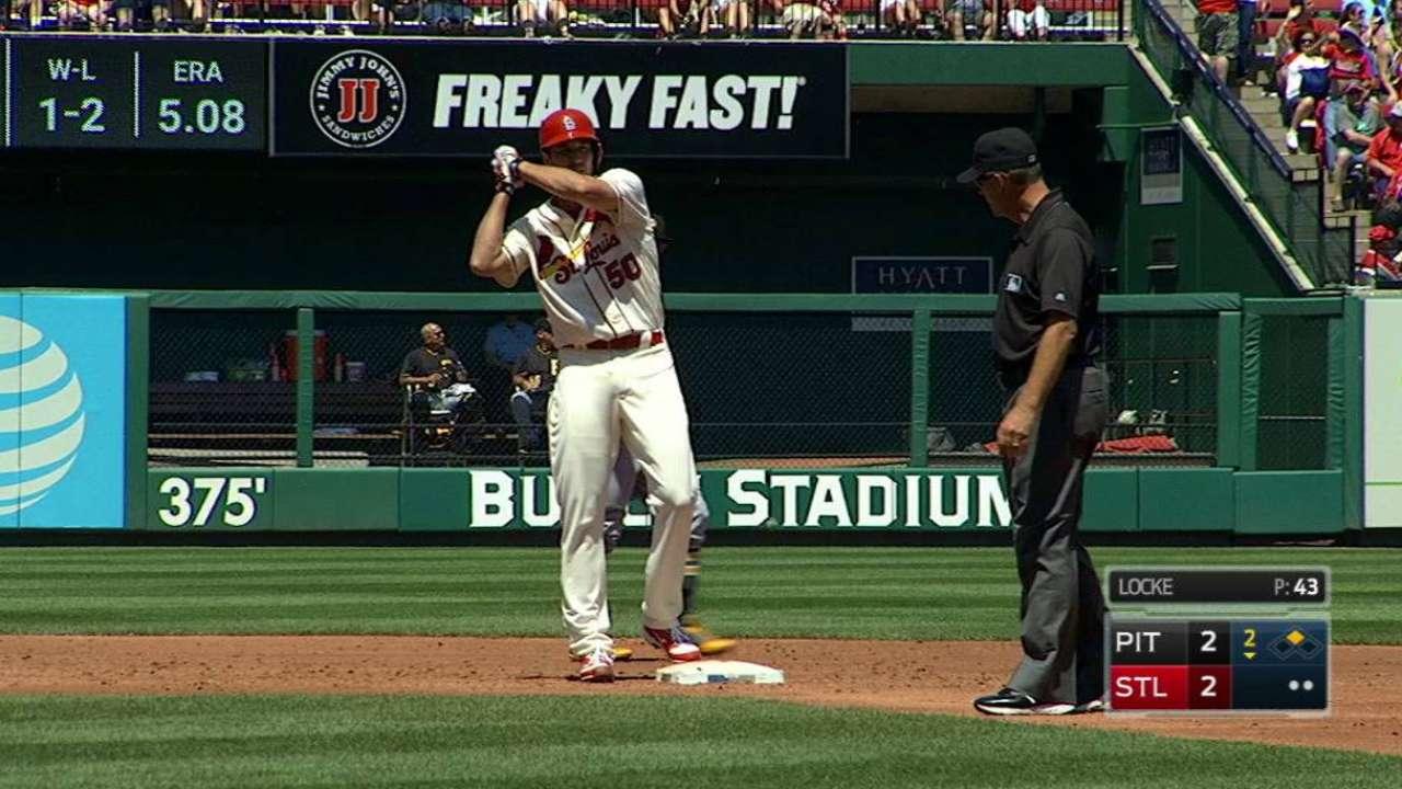 Wainwright's ground-rule double