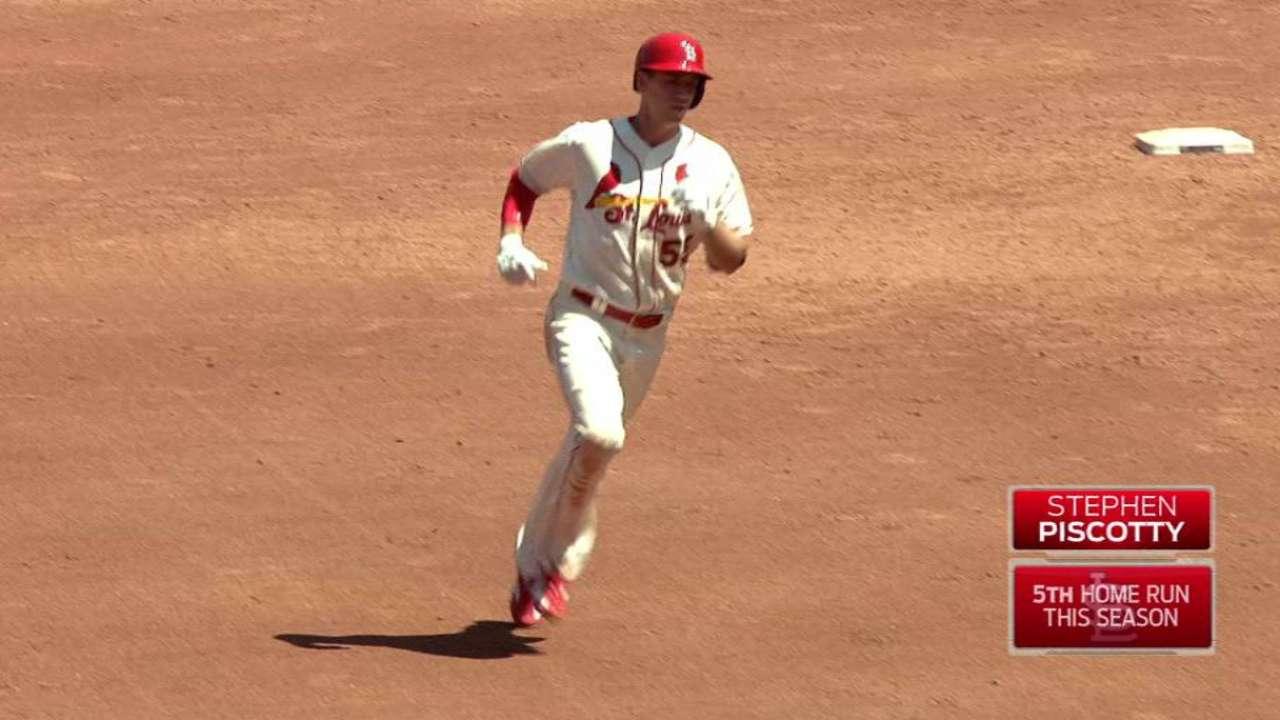 Piscotty's solo home run