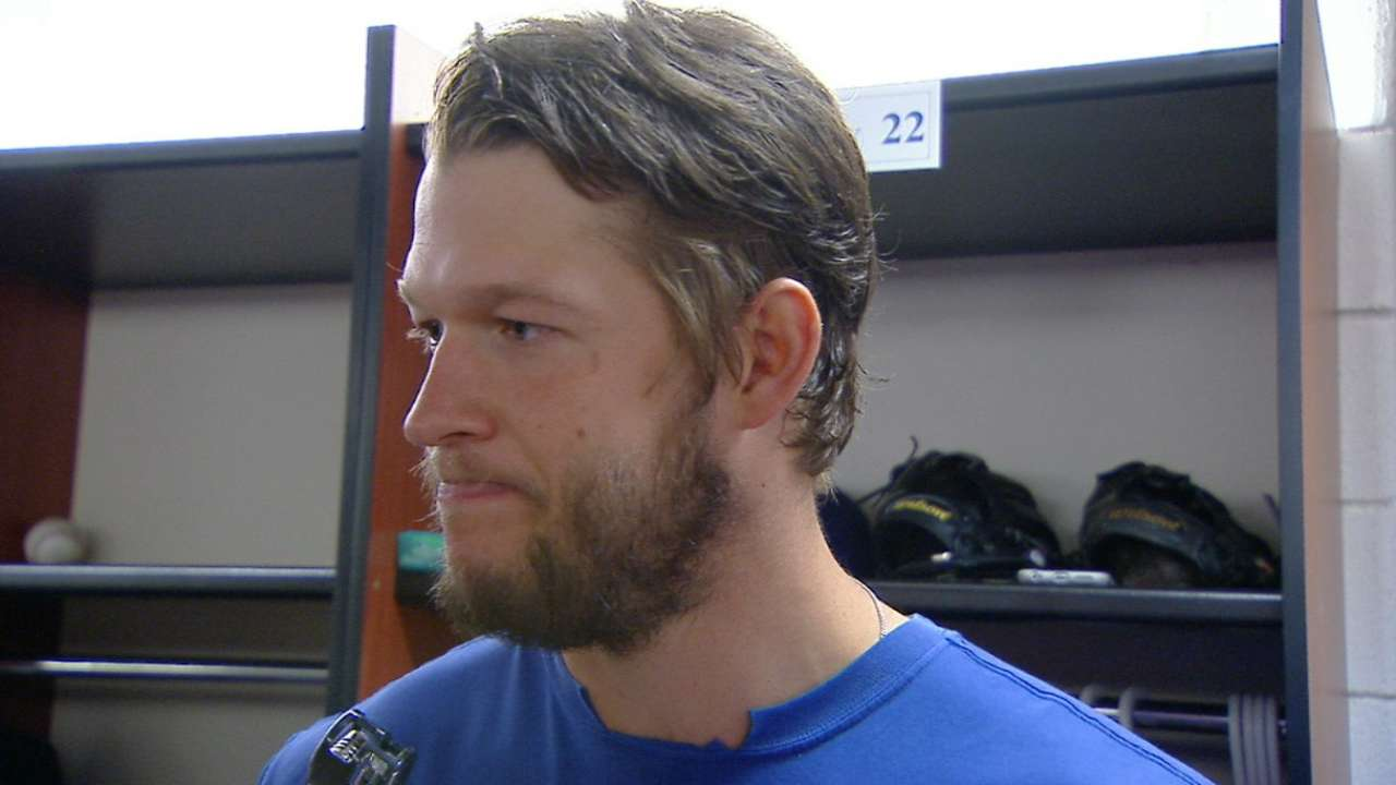 Kershaw talks win over Toronto