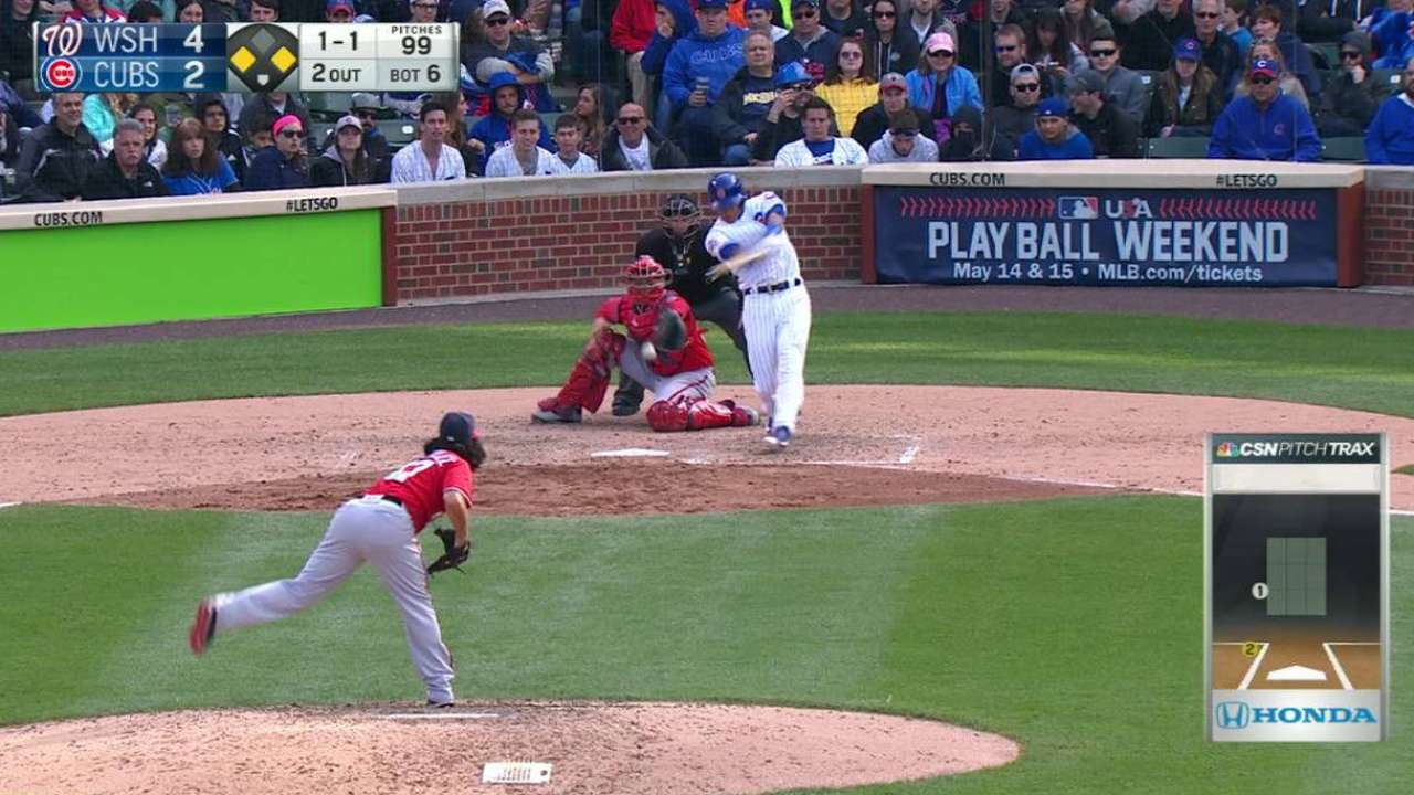Russell's RBI single to center