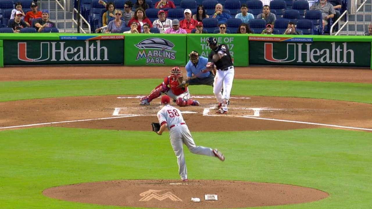 Ozuna's solo home run