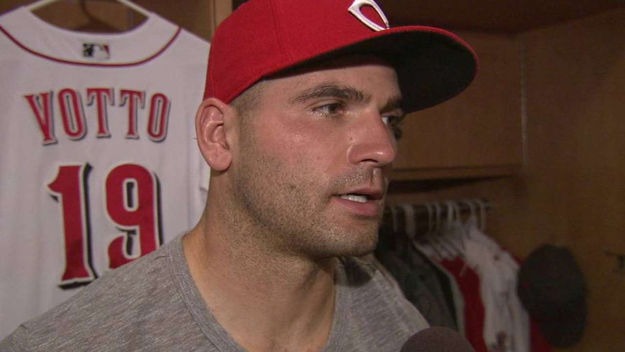 Votto and Phillips' 1000th game