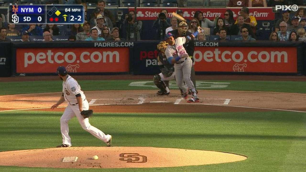 Cespedes' two-run homer