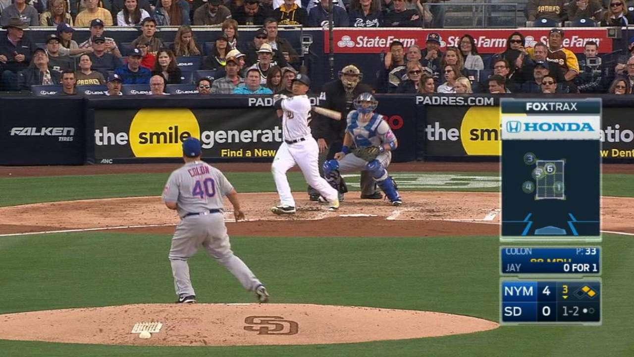 Jay's three-run homer