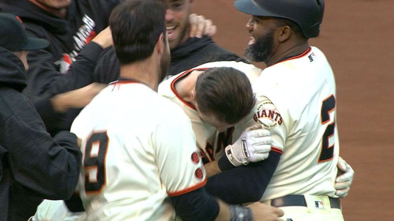Duffy's walk-off ends stalemate vs. Rox in 13th
