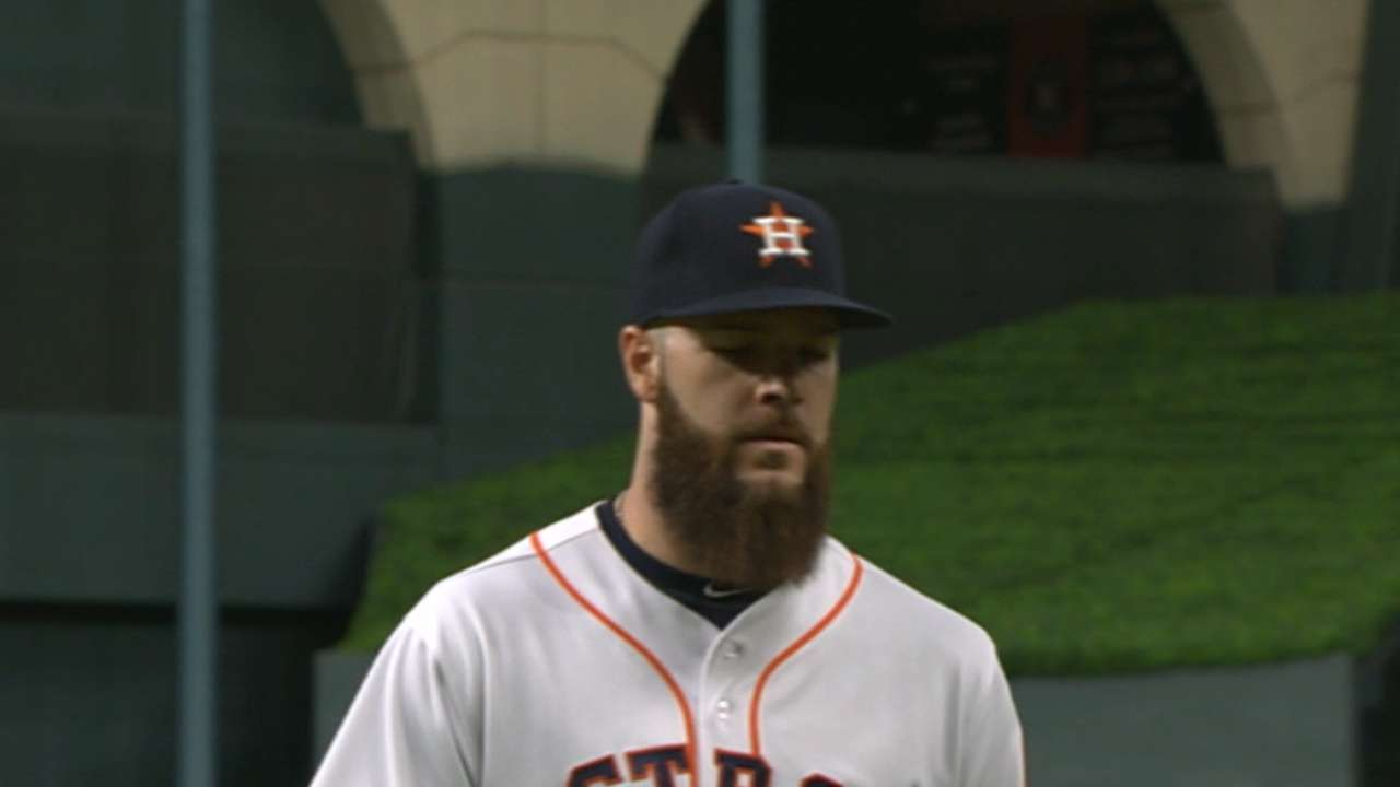 Keuchel's eight strikeouts
