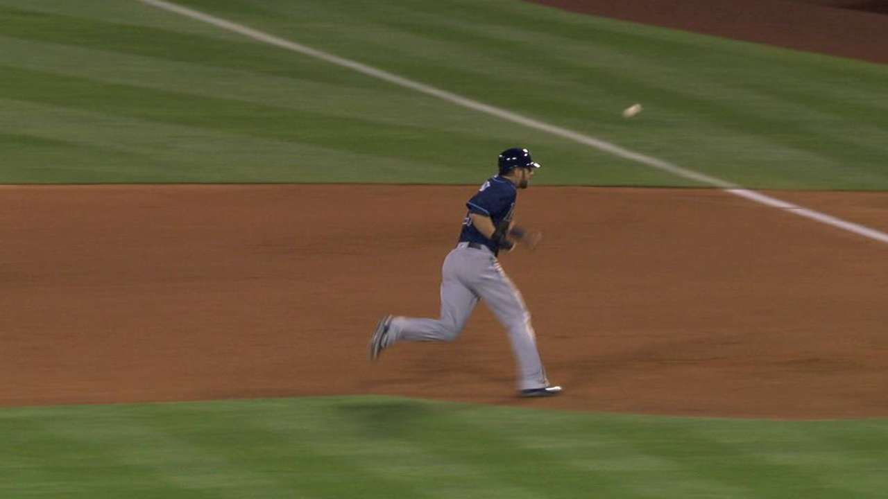 Souza reaches second on error