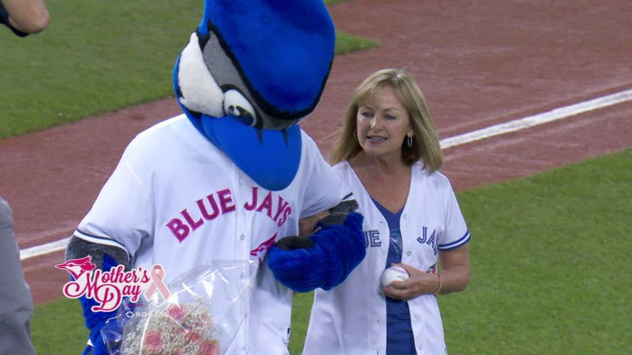 Blue Jays proud to show support in pink