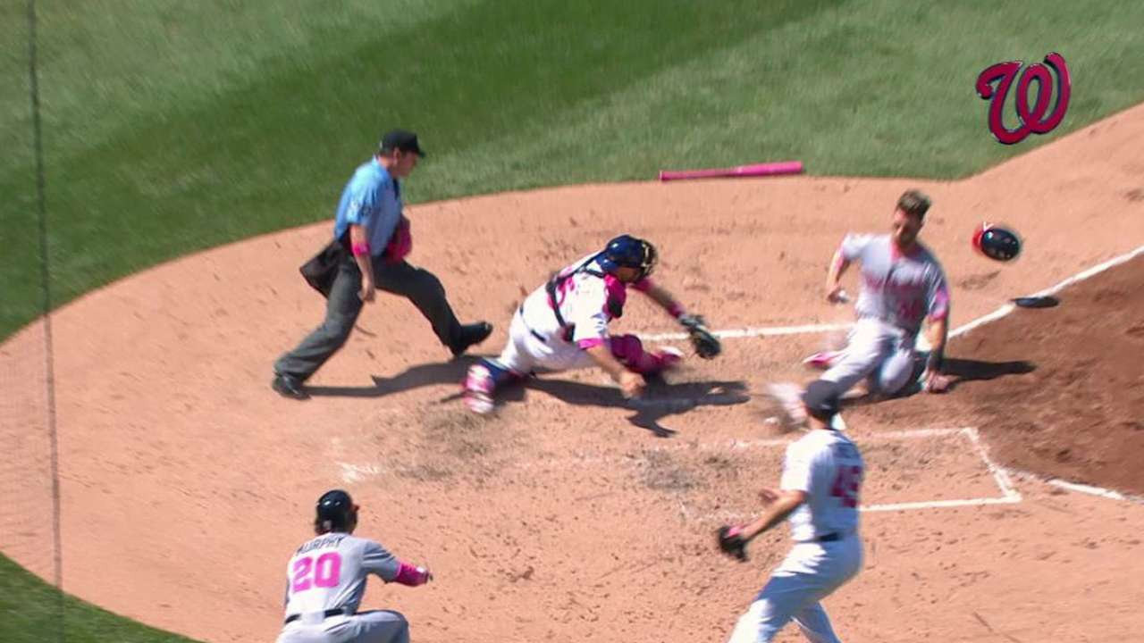 Donning pink 'special' for Zimmerman