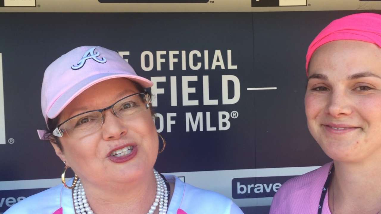 Honorary Bat Girl grateful for experience, platform