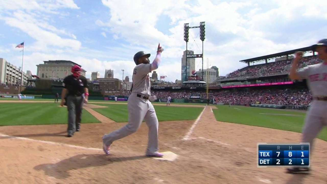 DeShields sent to Triple-A to work on swing