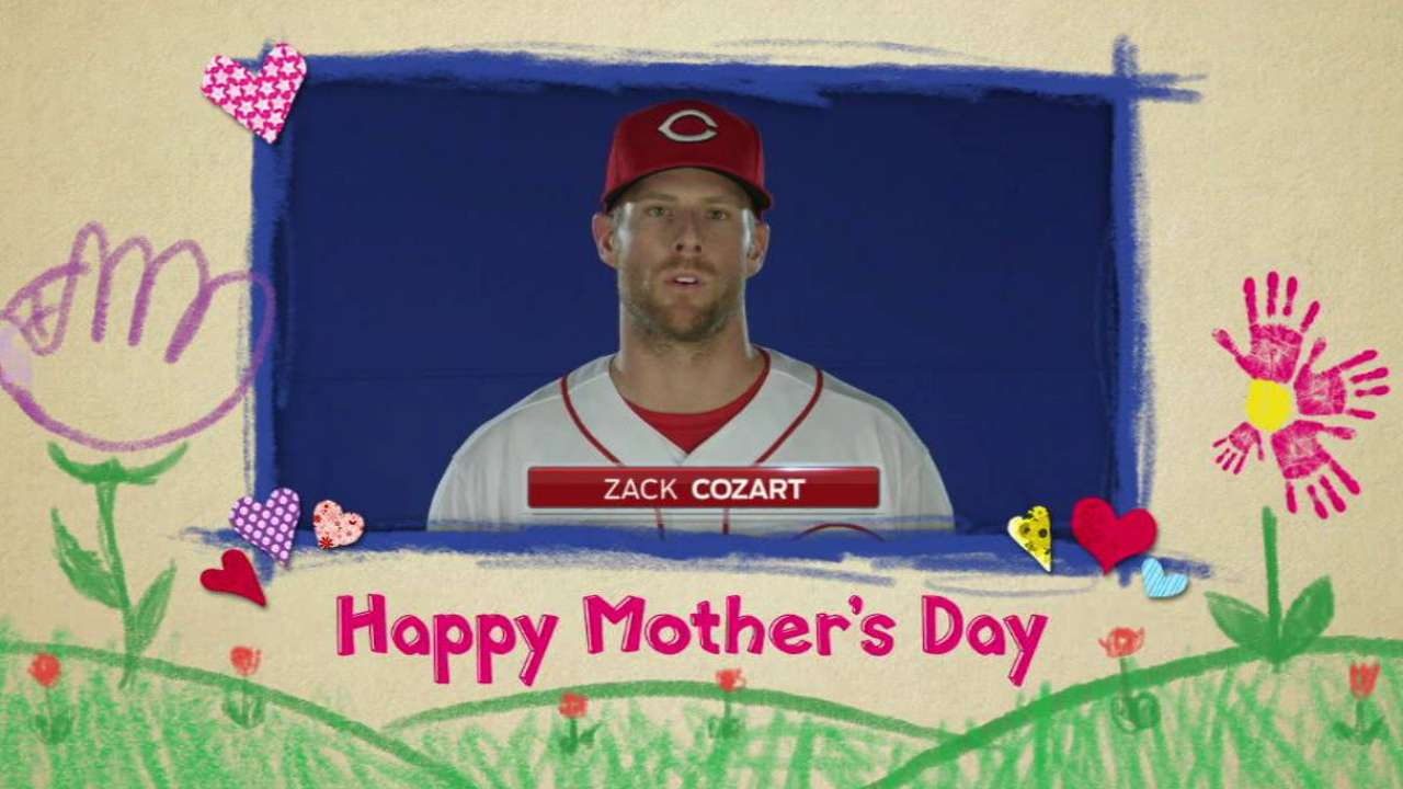 Cozart talks about his mom