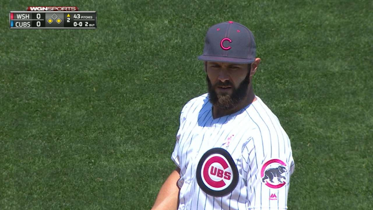 Arrieta not worried about future with Cubs