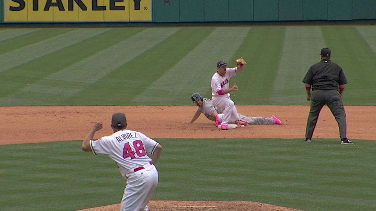 Angels' double play confirmed