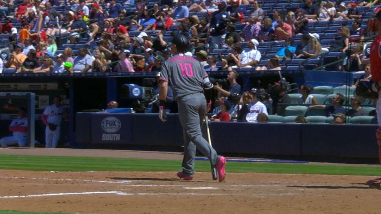 Herrmann's two home runs