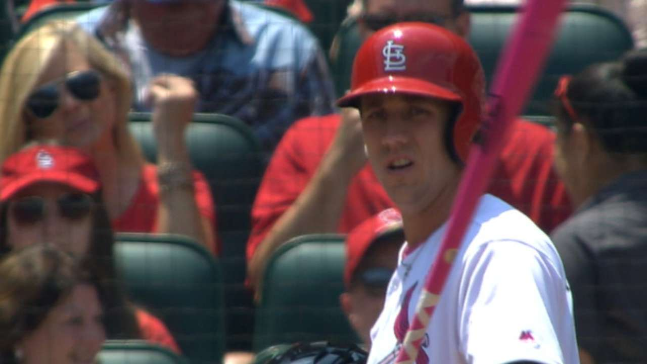 Piscotty tallies four hits