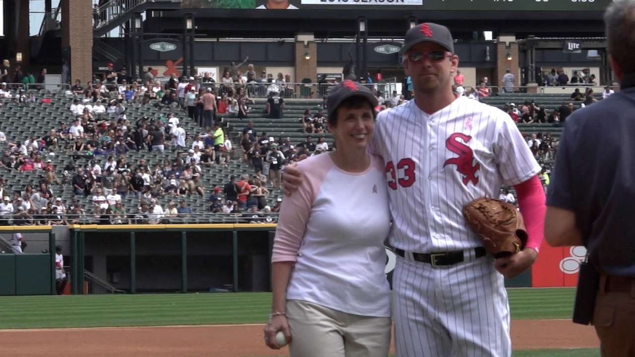 White Sox honor bat girl feature