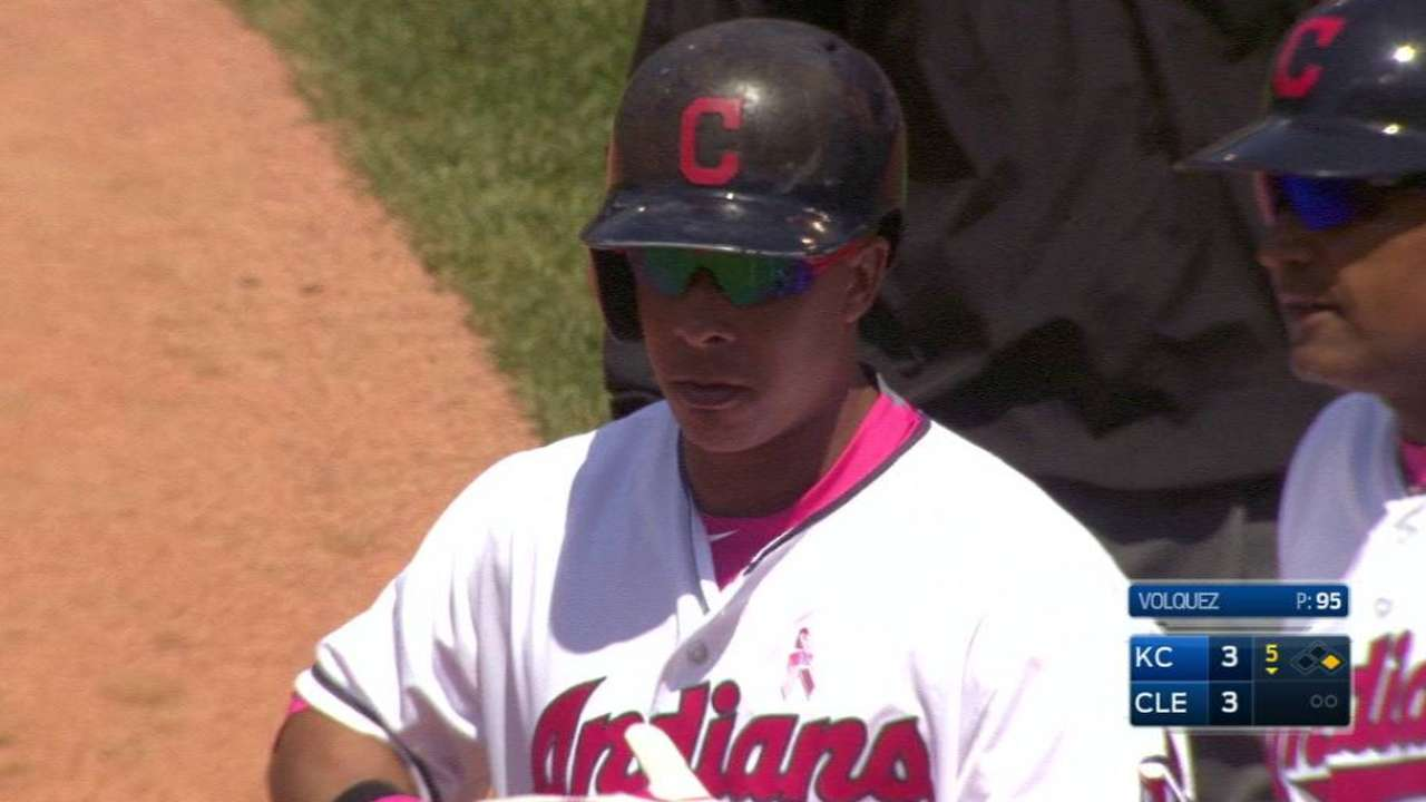Indians giving Brantley few days of rest