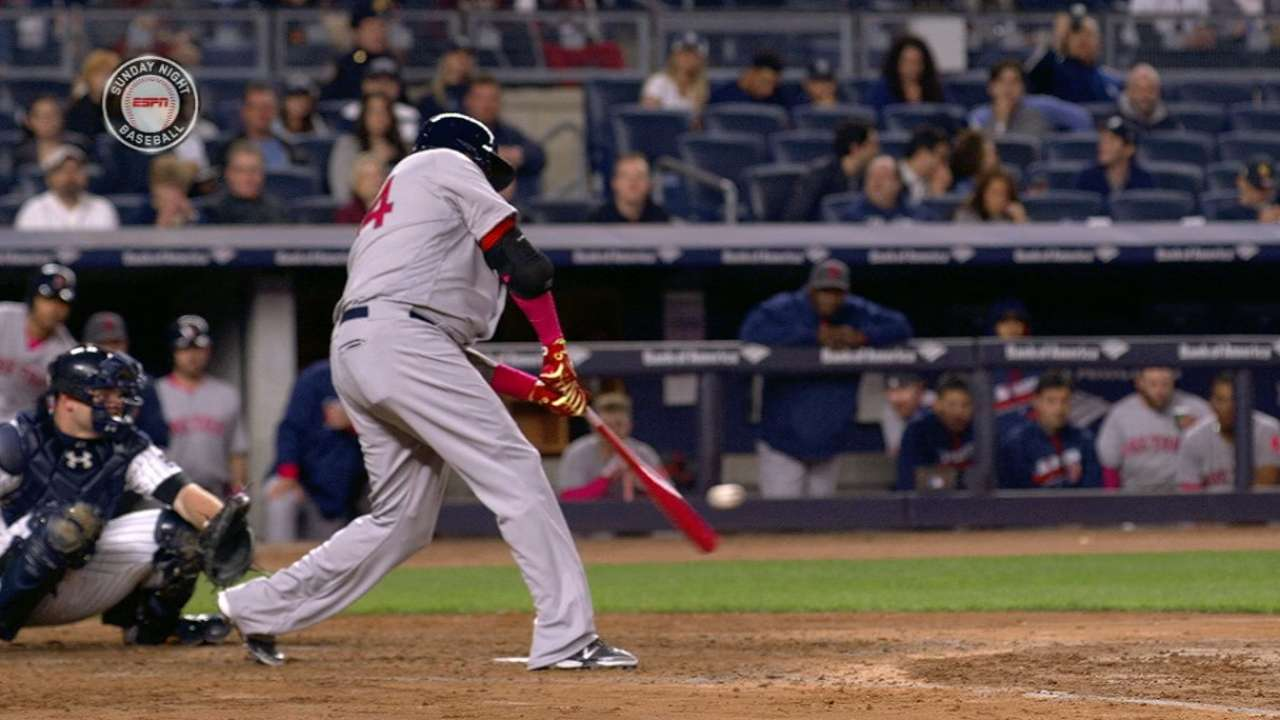 Ortiz's second homer of game