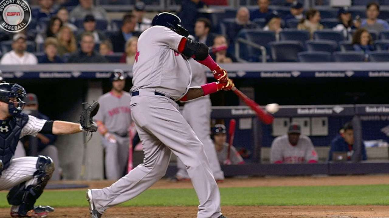 Papi passes Yaz on Red Sox's homer list