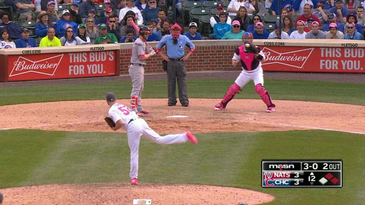 Harper takes 27 pitches