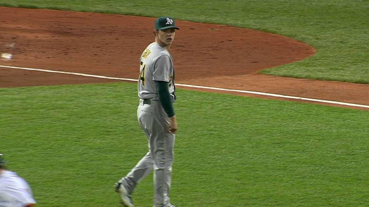 Ace chased: Gray's slump continues in Boston