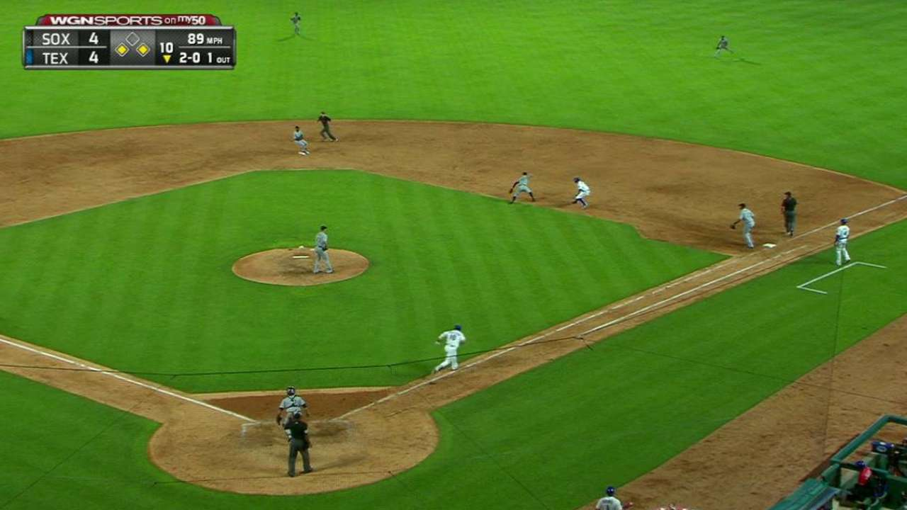 Lawrie starts DP to end inning