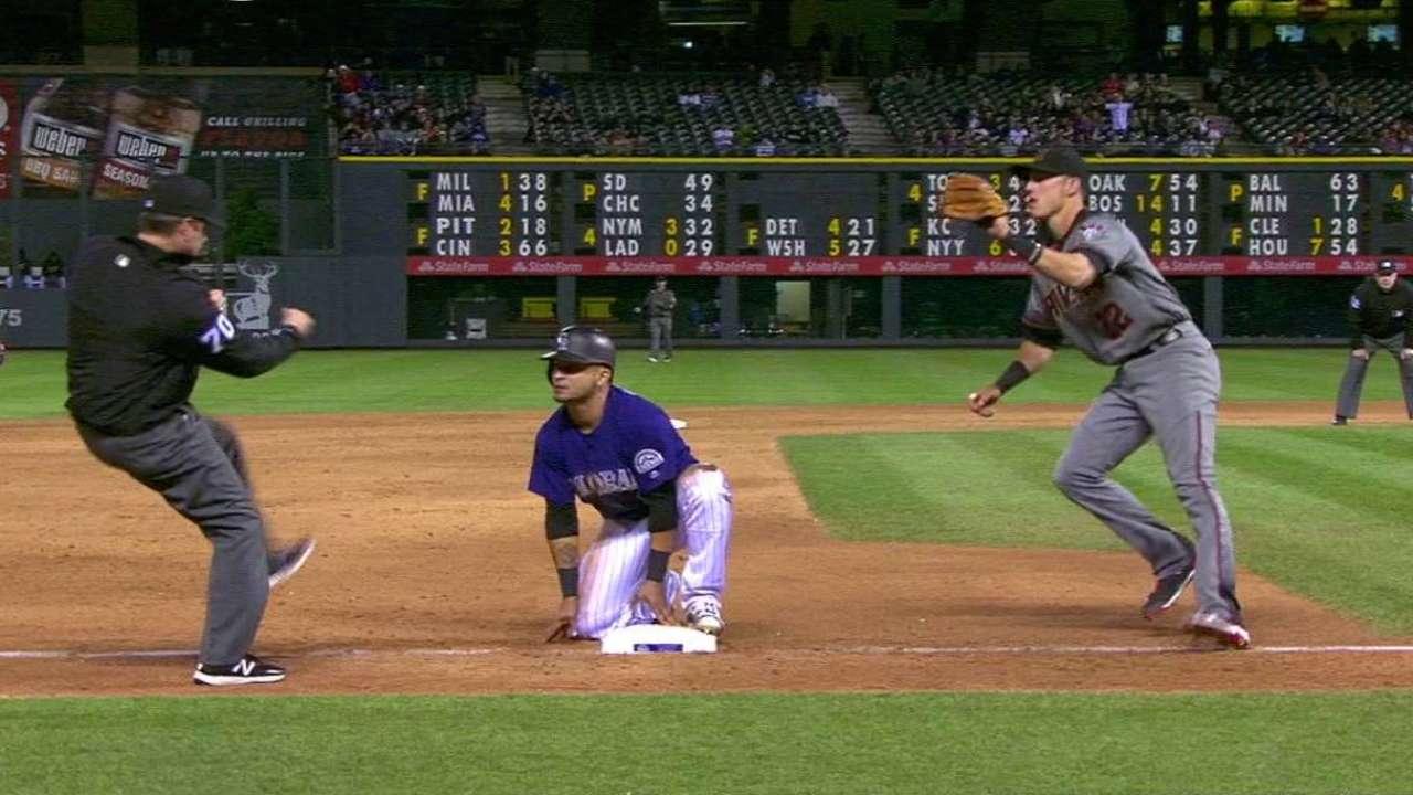 Castillo's perfect throw