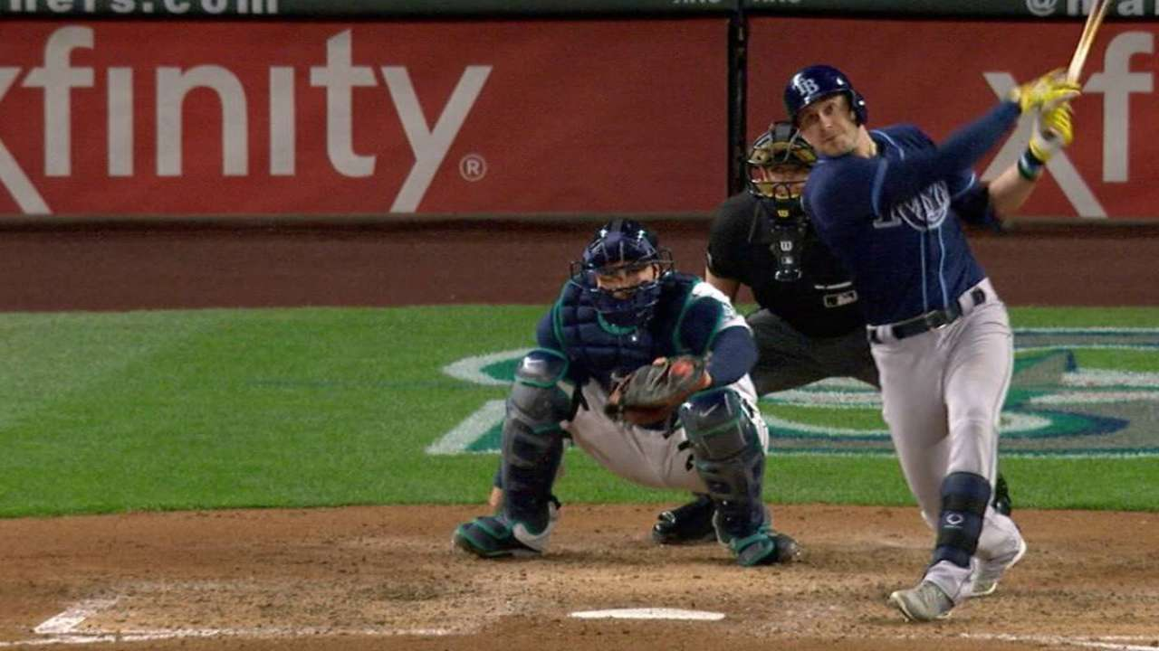 Homers big part of Rays' offensive attack