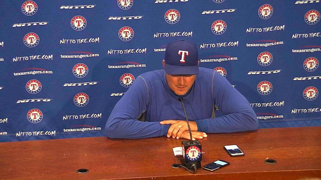 Rangers' frustration vs. White Sox continues