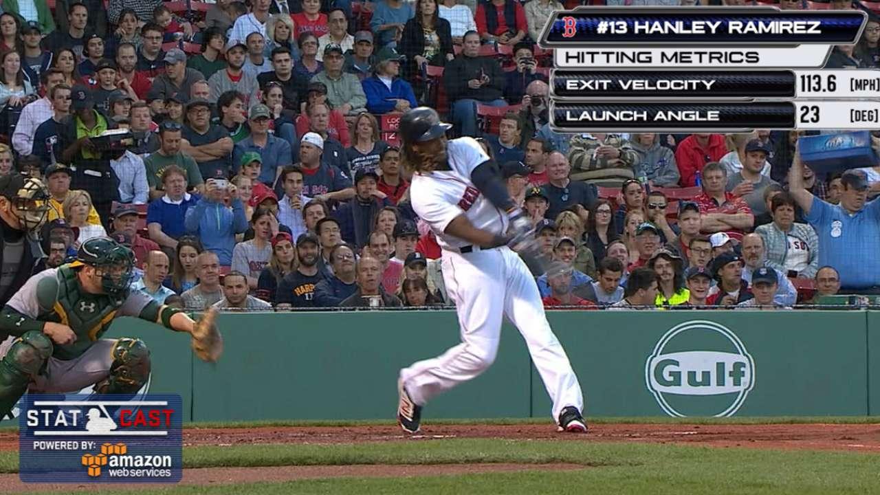 Hanley belts majestic 468-foot homer