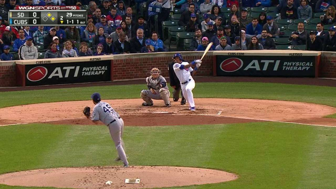 Russell's RBI double