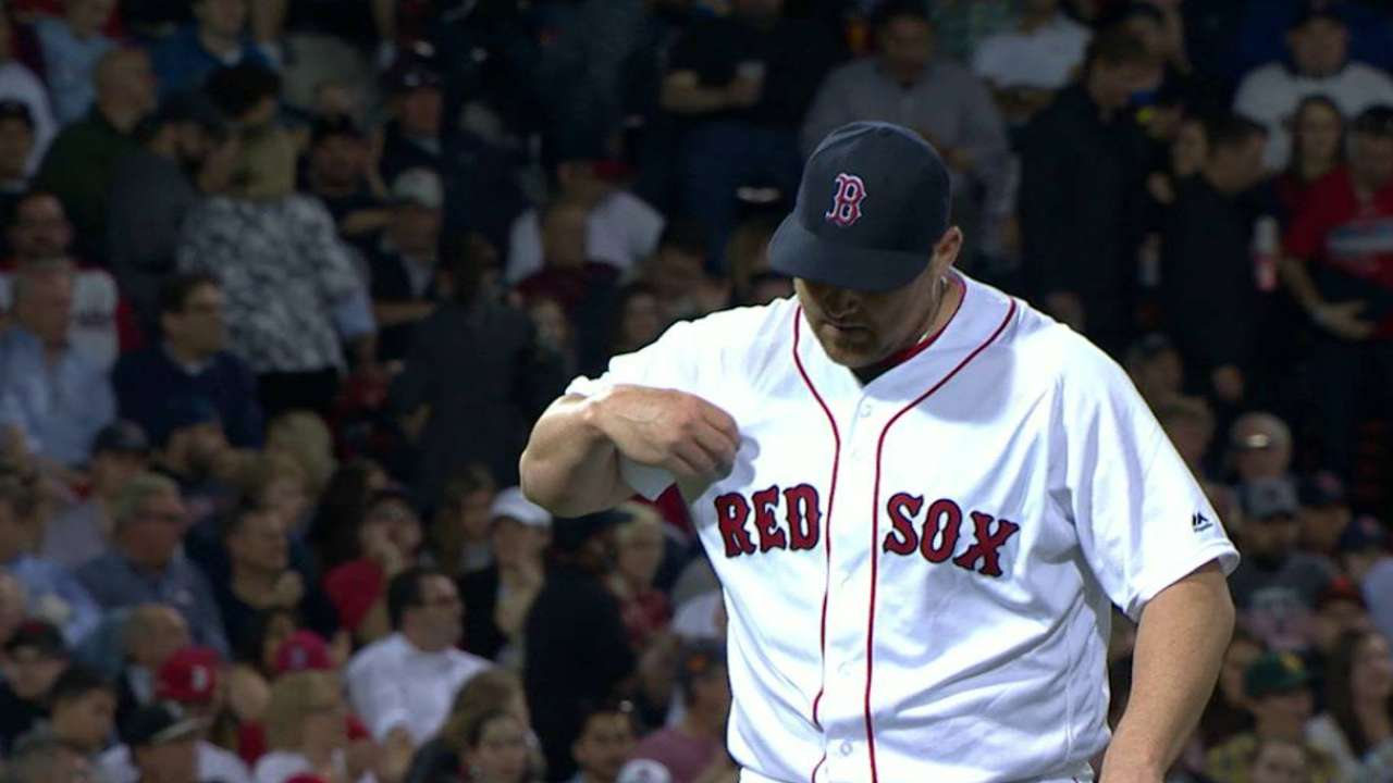 Red Sox tab O'Sullivan for Sunday's start