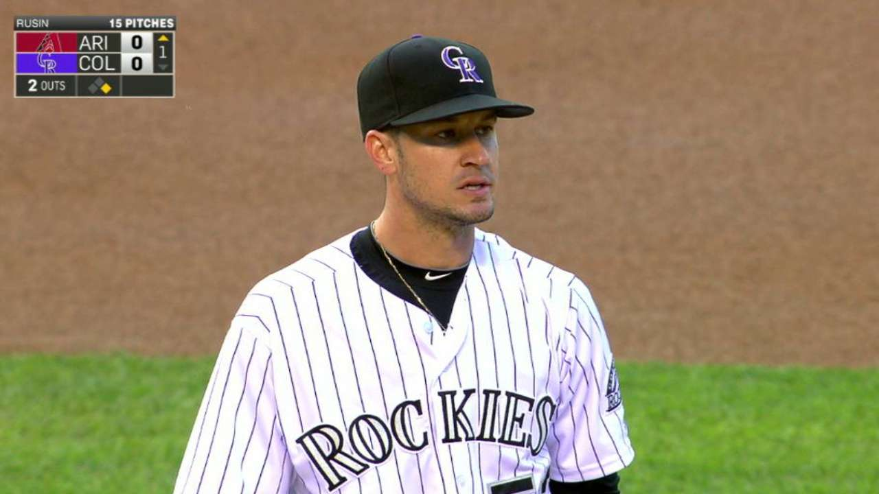 One bad inning sinks strong Rusin start