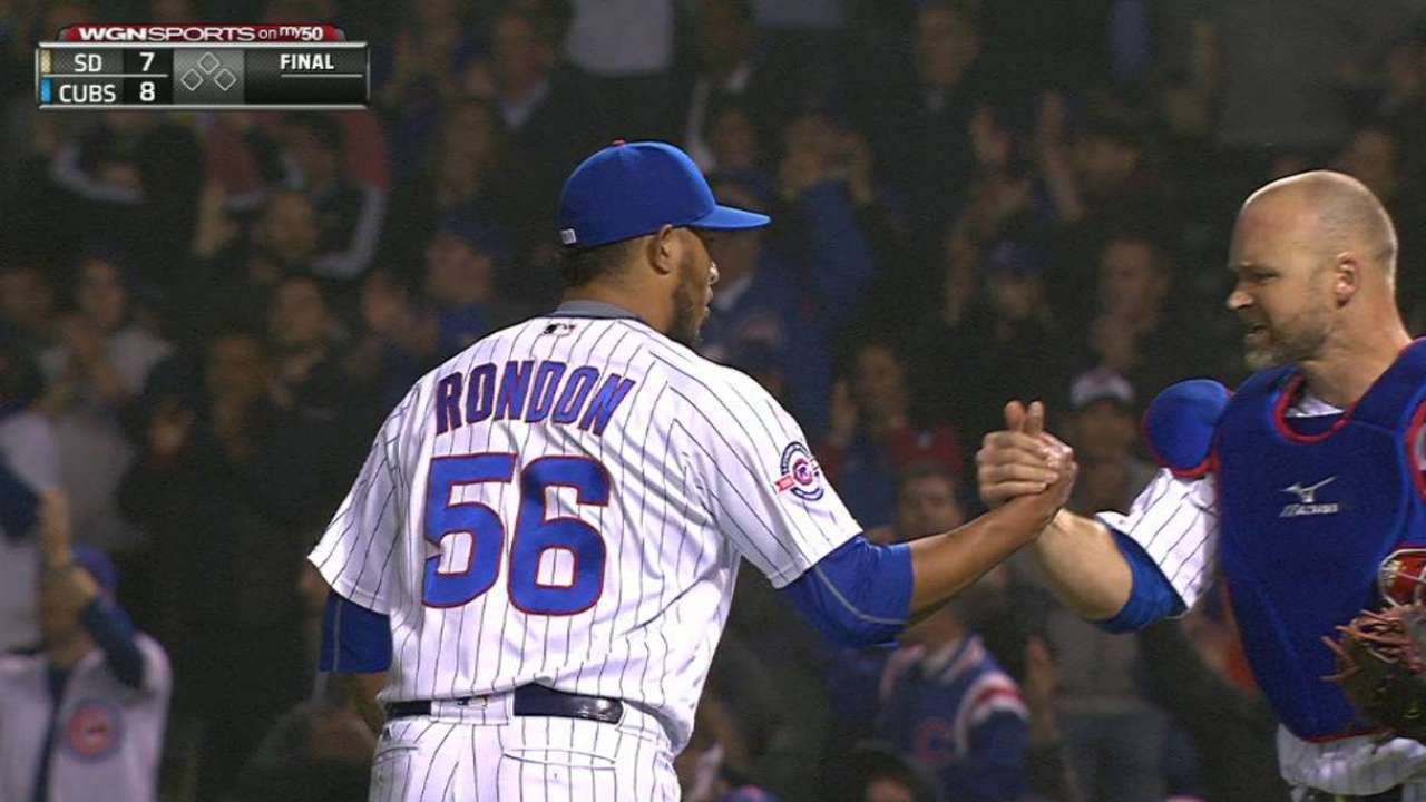Rondon ready to pitch both games in doubleheader