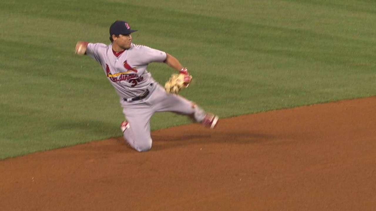 Diaz's impressive stop