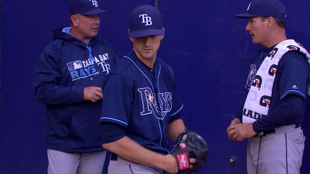 Smyly strikes out five