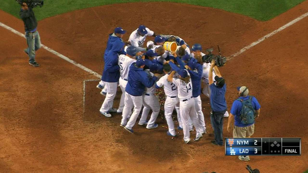 Thompson's walk-off homer