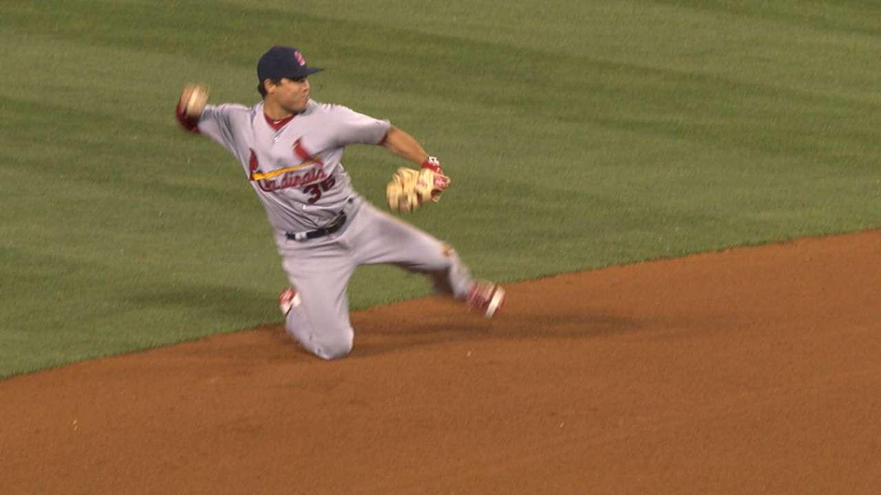 Diaz shows off defensive skills