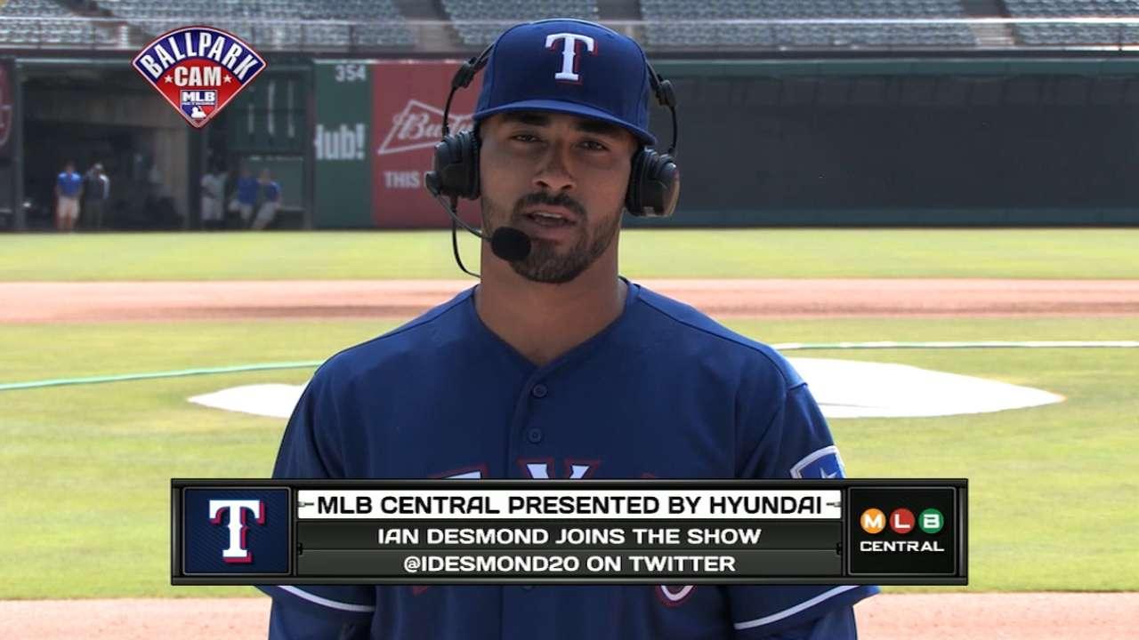 Ian Desmond on MLB Central