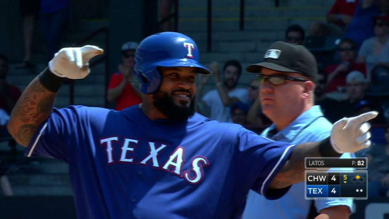 Fielder's two-run double