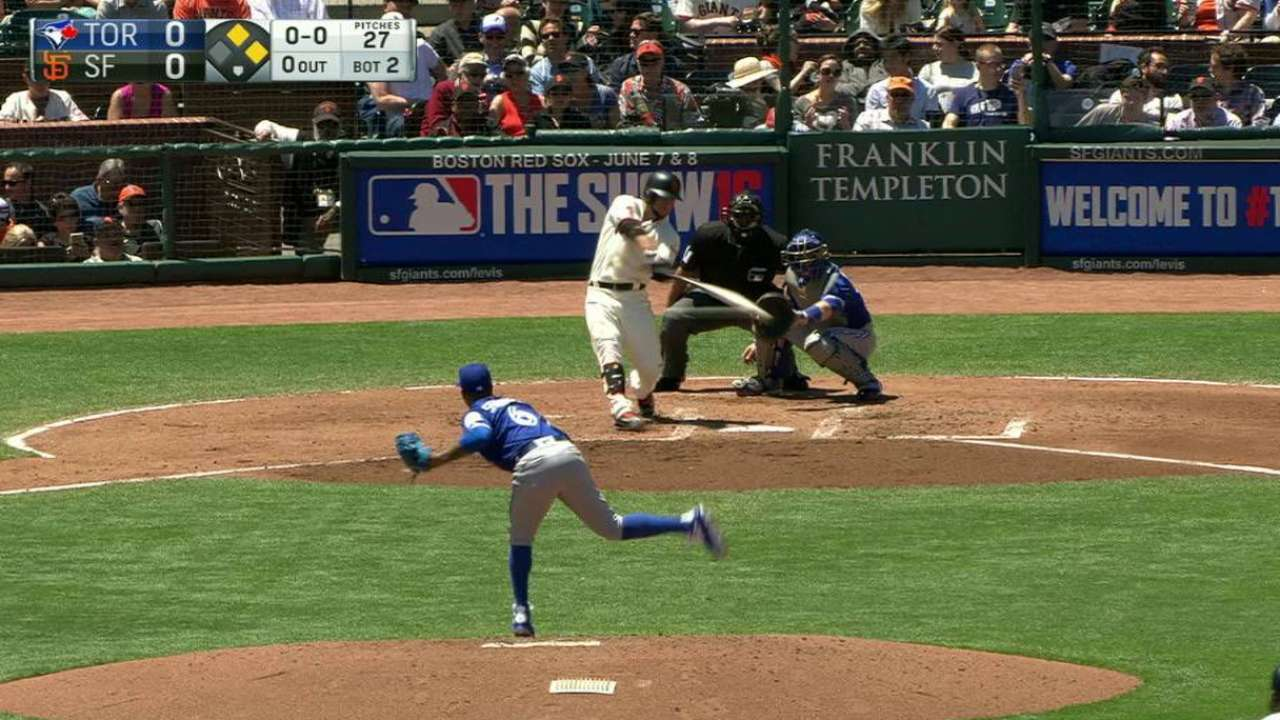 Blanco's RBI double to right