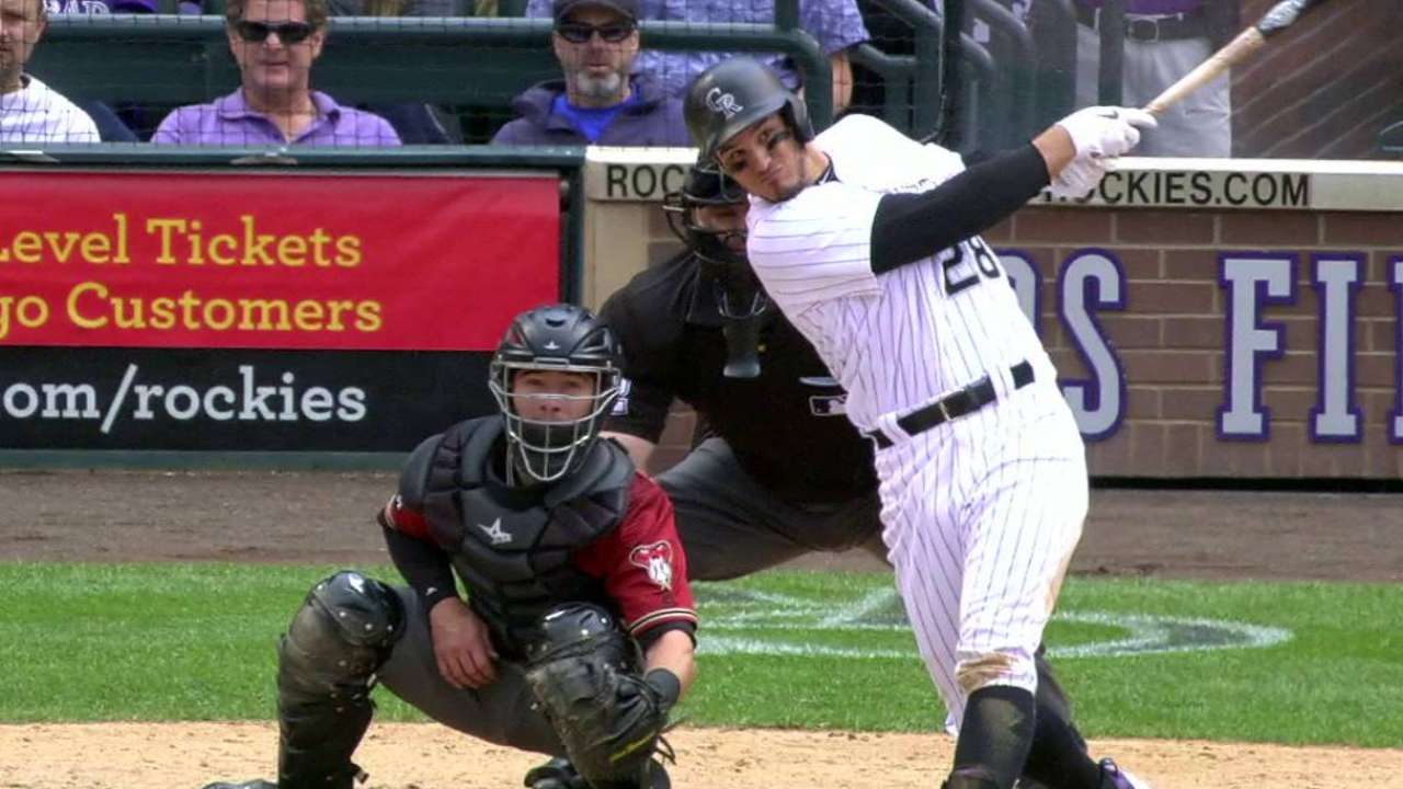 Blackmon, Arenado blast off for Rox in victory