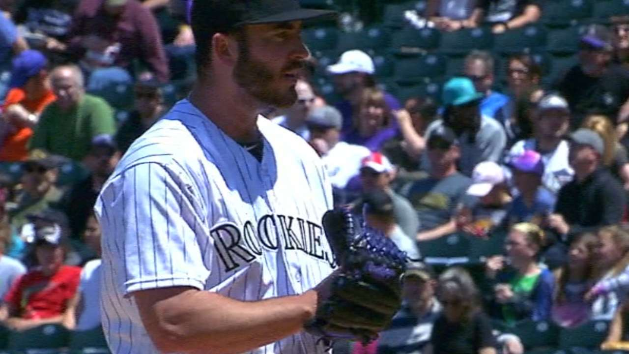 Rockies' young pitching talent 'legit'