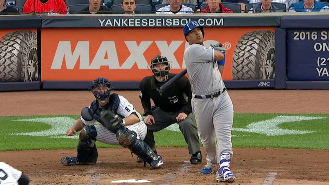 Royals muscle up for gritty Ventura in Bronx