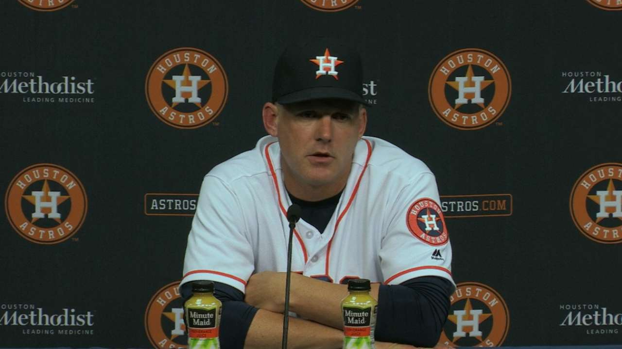Hinch on 5-3 win in 16 innings
