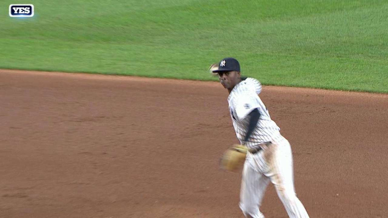 Pineda induces double play