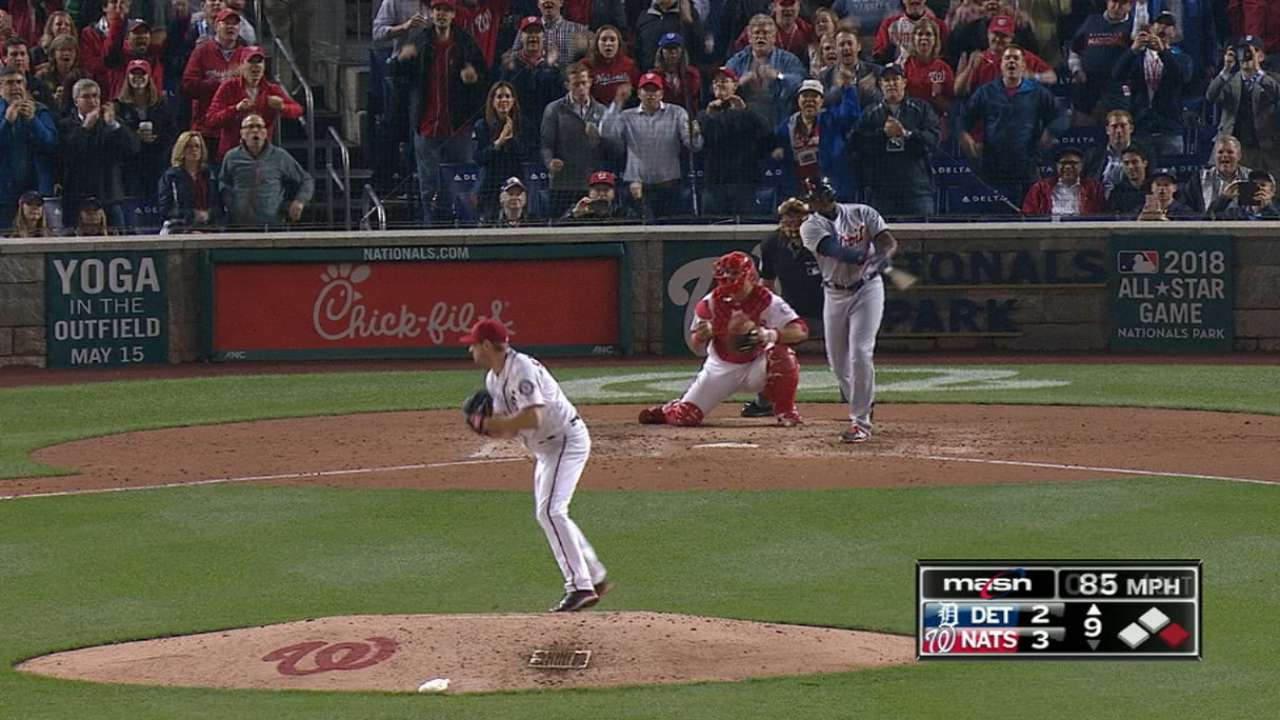 Scherzer's 20 K's in 20 seconds