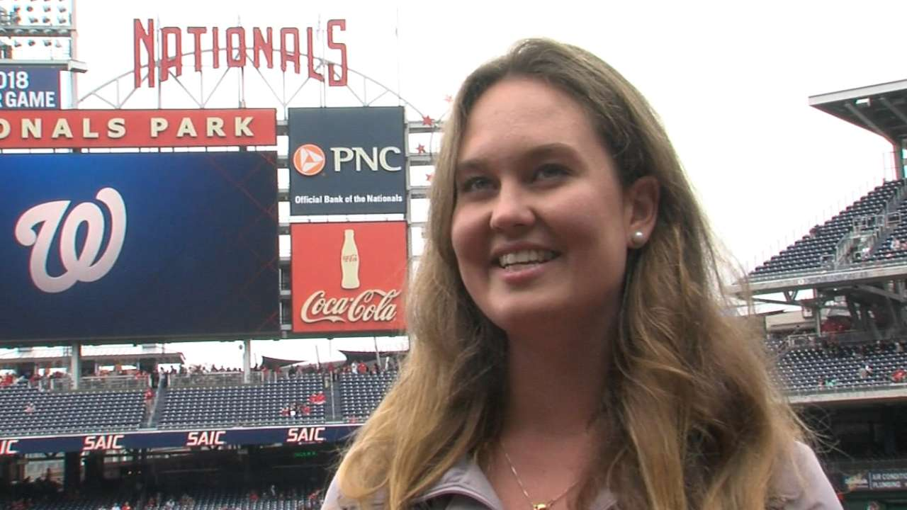 Cub reporter bears witness to history in DC