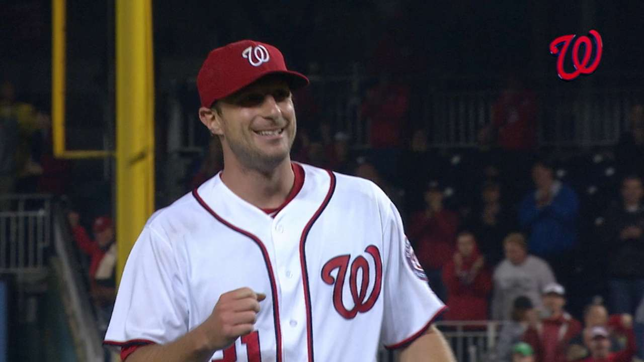 Max-nificent: Scherzer shines in top GIFs